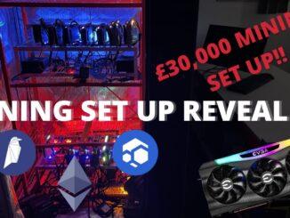 Our £30k UK Crypto Mining Set Up!