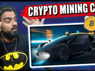 World First Cryptocurrency Mining Electric Car || Tech 305